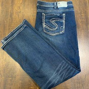 Silver Jeans Tuesday BootCut Plus Size 24 - 33 Leg